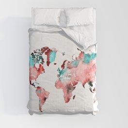 world map 72 Comforters