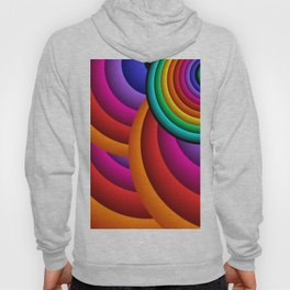 rings and colors for a curtain Hoody