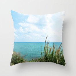Nature's Balcony Throw Pillow