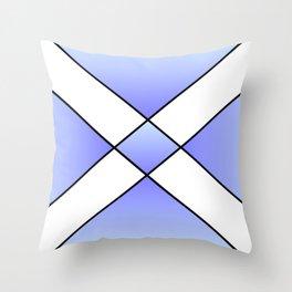 Saint andrew's cross 2- Throw Pillow