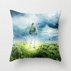 Fighter Pilot Throw Pillow