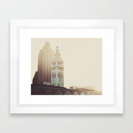 SF Beauty Framed Art Print