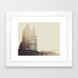SF Beauty Framed Art Print