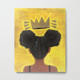 Young Queen by Joni G Metal Print