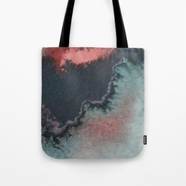 galaxy erupt Tote Bag