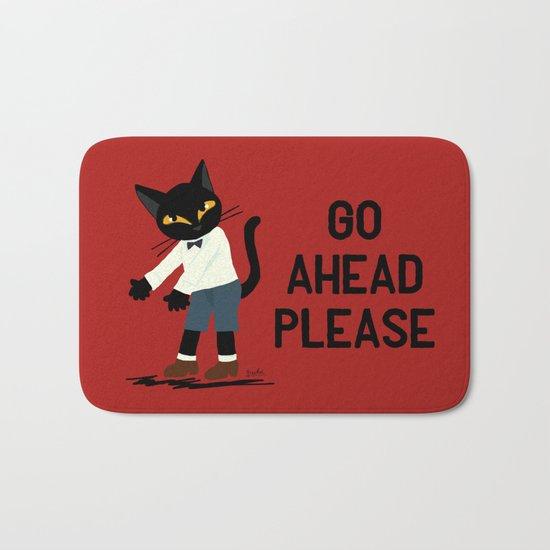 Go ahead please Bath Mat