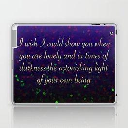 Astonishing Light Laptop & iPad Skin