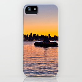 Vancouver Skyline iPhone Case