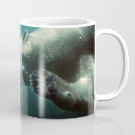 Polar Bear Waving Coffee Mug