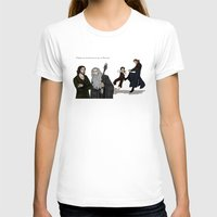 aragorn T-shirts featuring Sneaking Suspicion by wolfanita