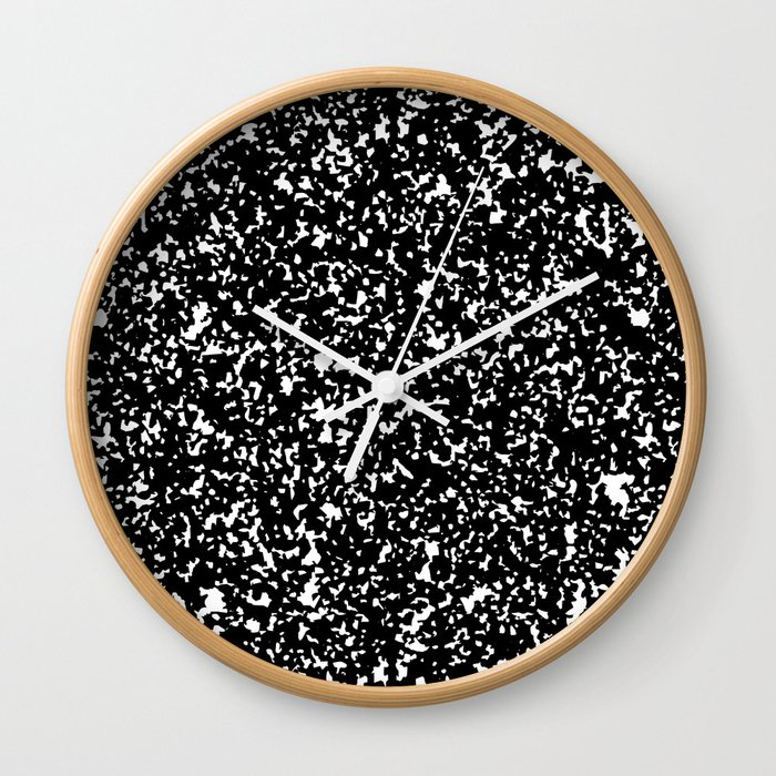 Composition Print Wall Clock