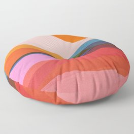 Abstraction_OCEAN_Beach_Minimalism_001 Floor Pillow
