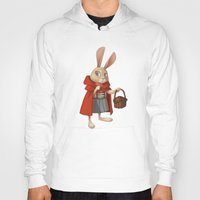 red riding hood Hoodies featuring Little Red Riding Hood by Alyssa Tallent
