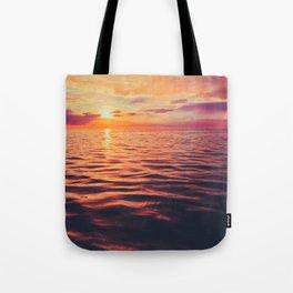 Maldivian sunset 3 Tote Bag