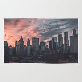 Manhattan Fire Sky Rug