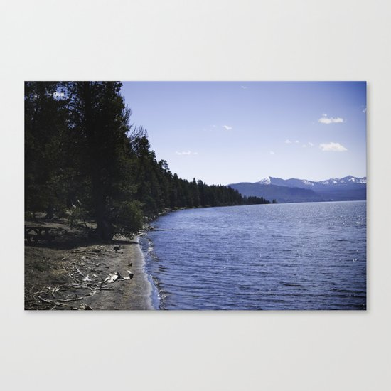 Lake Yellowstone Canvas Print