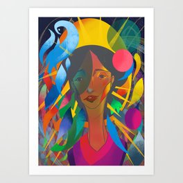 The Now and Not Yet Art Print