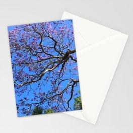Blue Jacaranda 1/3 Stationery Cards