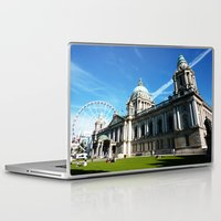 dublin Laptop & iPad Skins featuring Dublin Days by ainslieeee