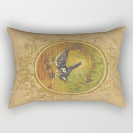 Two Birds Rectangular Pillow
