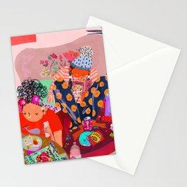 Snacks Stationery Cards