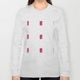 Pink shields Long Sleeve T-shirt