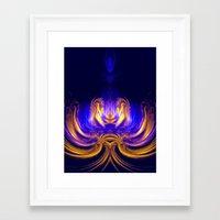 meditation Framed Art Prints featuring Meditation by Art-Motiva