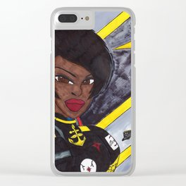 Star Fighter Pilot Clear iPhone Case