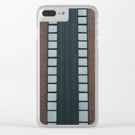 Symmetrical Windows Clear iPhone Case