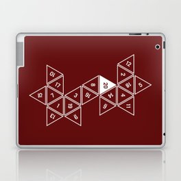 Red Unrolled D20 Laptop & iPad Skin