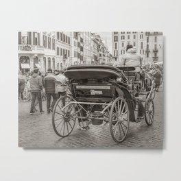 Piazza di Spagna - Rome, Italy Metal Print