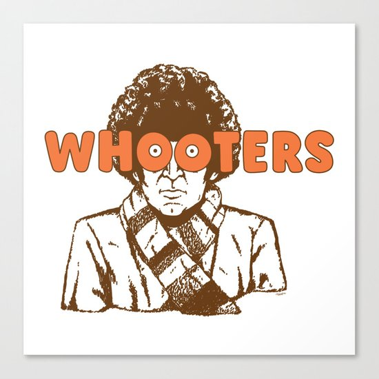 Whooters Canvas Print