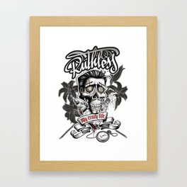 El Jogador Framed Art Print
