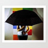 polka dots Art Prints featuring Polka Dots by Hil Wittenhagen