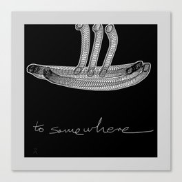 To Somewhere Canvas Print