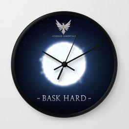 Achenar Immortals  Wall Clock