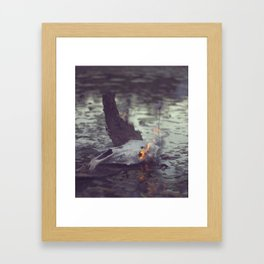 This Pond Framed Art Print