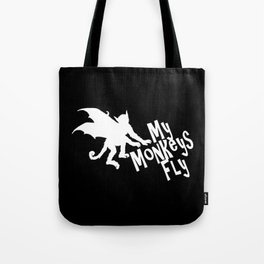 My Monkeys Fly Tote Bag