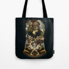 Old Master Skull Tote Bag