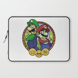 Zombies Mario & Luigi Laptop Sleeve