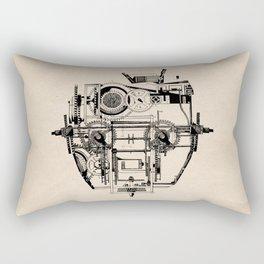 Clockhead Rectangular Pillow