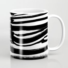 Stripes - Fusion of pen strokes Coffee Mug