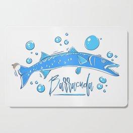 Big Blue Barracuda Cutting Board