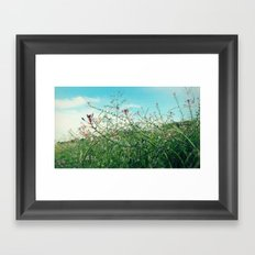 Field Wild Flowers Framed Art Print