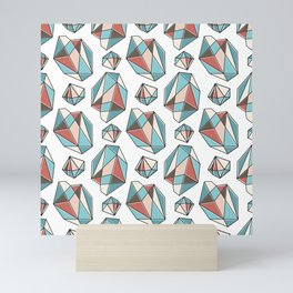 Diamonds are forever Pattern 3 Mini Art Print