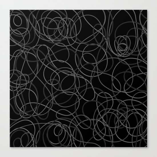 Time is elastic Canvas Print