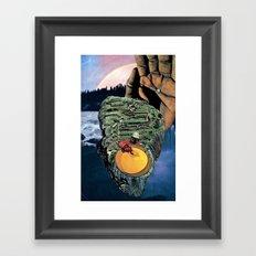 anga Framed Art Print