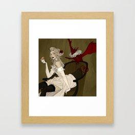 Little Demon Framed Art Print