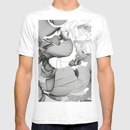 Metamorfosis #1 Abstract Art Line T-shirt