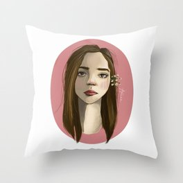 A Touch of Joy Throw Pillow